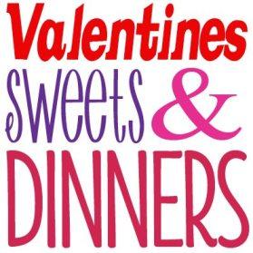 Valentiens Treats and Dinner Ideas