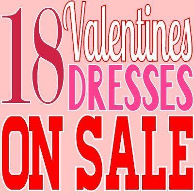 18 Valentines Dresses on Sale