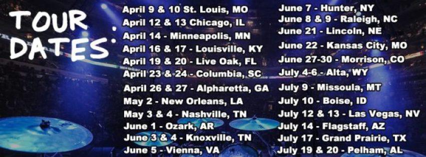 Widespread Panic Tour