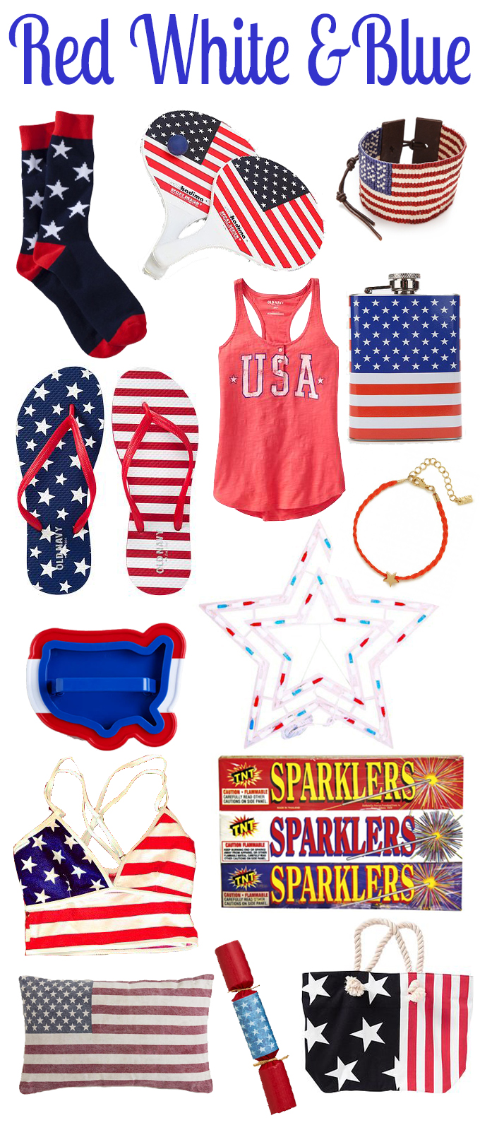 Something Red, White & Blue For The 4th!
