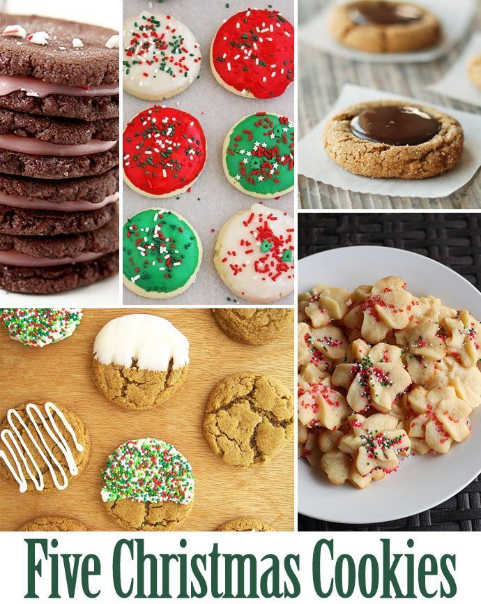 5 Holiday Cookie Ideas