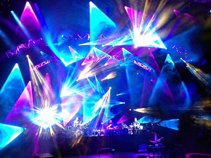 sts9 at red rocks