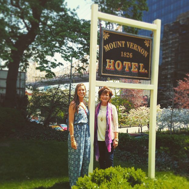 Colonial Dames's Mount Vernon Hotel in New York City