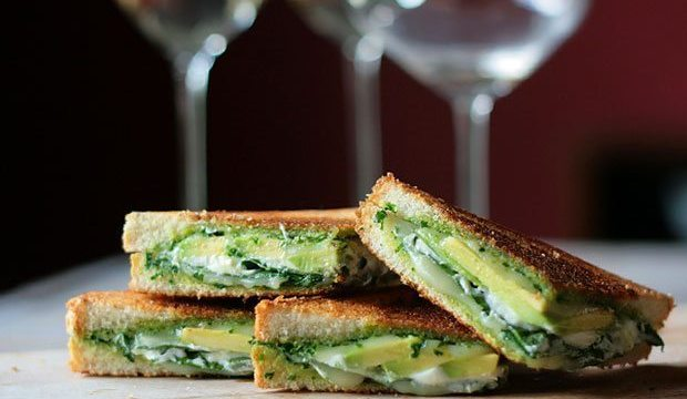 Green Goddess Grilled Cheese Sandwich | Blue Mountain Belle