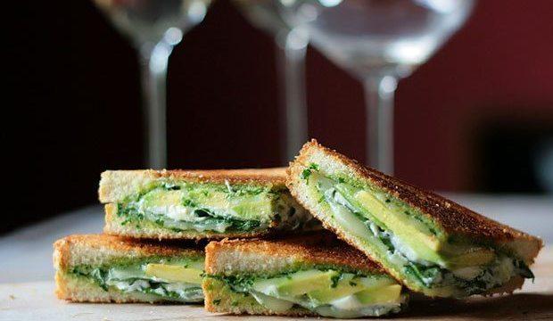 Green Goddess Grilled Cheese Sandwich | Blue Mountain Belle