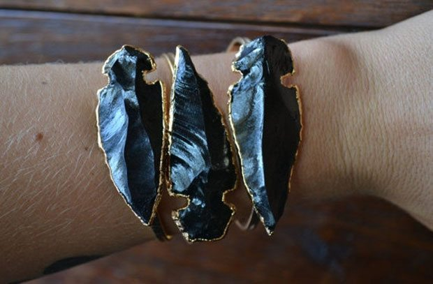 Large Arrowhead Bracelet LuxeDivine | Blue Mountain Belle
