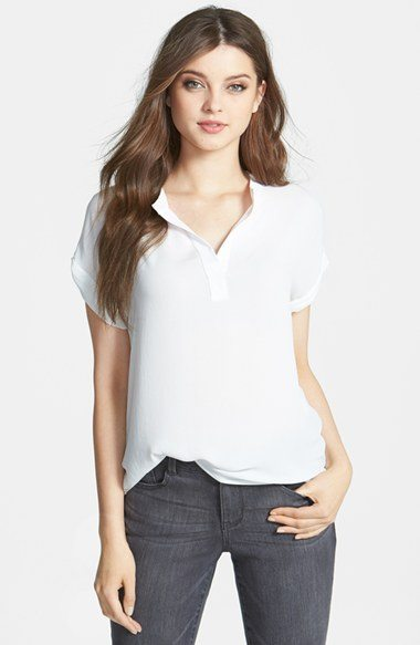 Pleione White Blouse