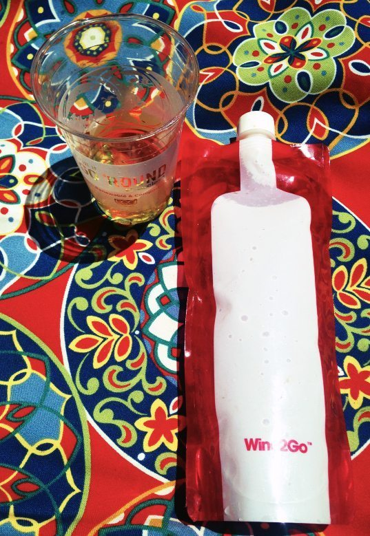 Wine2go the foldable wine bottle