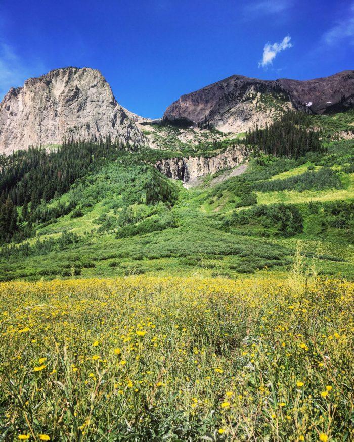 Colorado Road trip: Crested Butte - Judd Falls