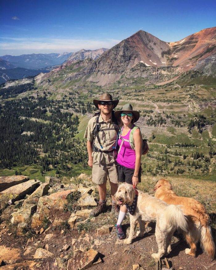 Colorado Road trip: Crested Butte Scarps Ridge hike