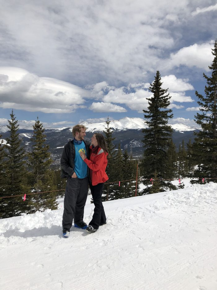 Breckenridge Engagement | Blue Mountain Belle