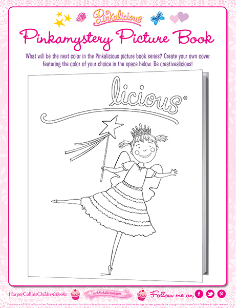 pinkalicious coloring pages # 11