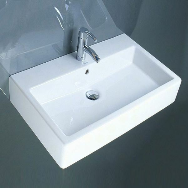 duravit vero 454700000 wall mounted basins