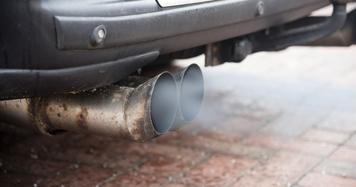 vehicle exhaust emissions what comes
