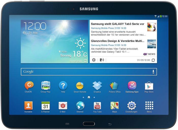 مميزات وعيوب ومواصفات جوال Samsung Galaxy Tab 3 101 P5200