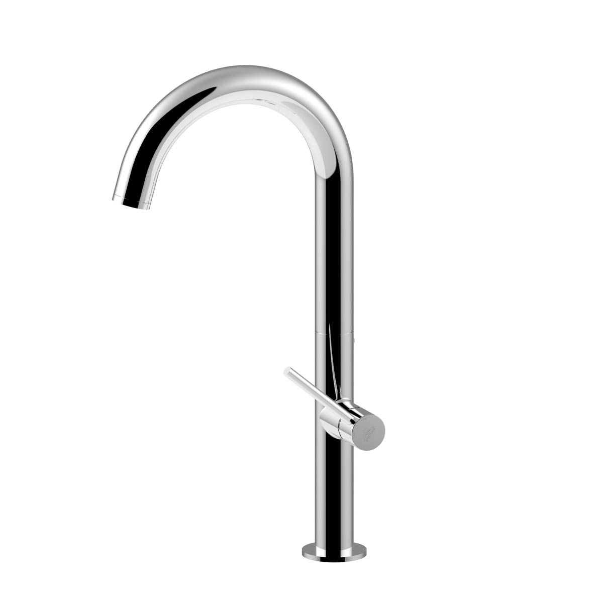 ws bath collections chef ch 180 one hole kitchen faucet with swivel spout