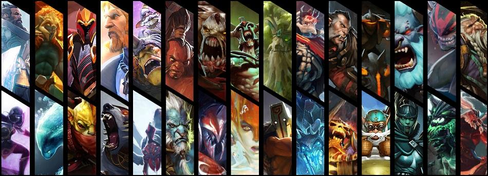Top 5 Least Played Dota 2 Heroes Kill Ping