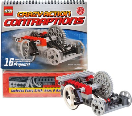 Image result for Klutz Lego Crazy Action Contraptions Kit