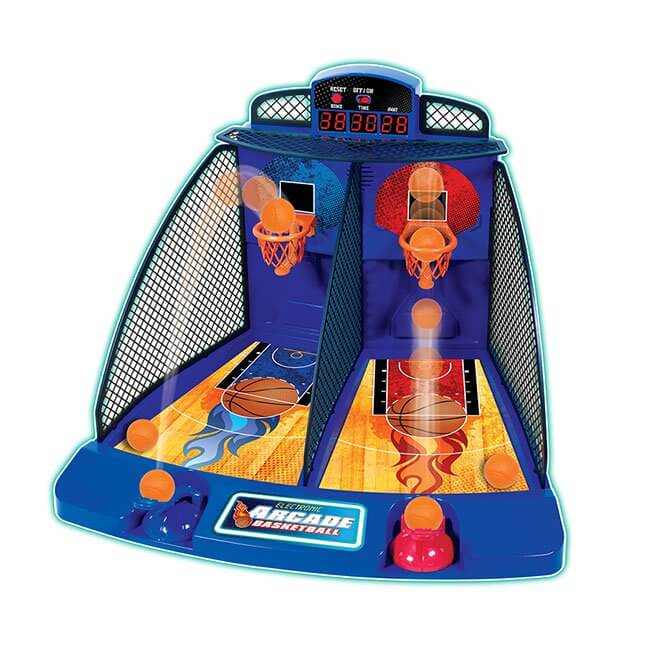 Top Holiday Toys for 2018   Fat Brain Toys Electronic Arcade Basketball