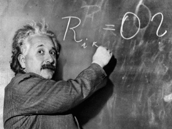 Einstein, who searched for the theory of everything.