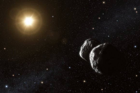 Asteroids Can Get Shaken And Stirred By Mars' Gravity