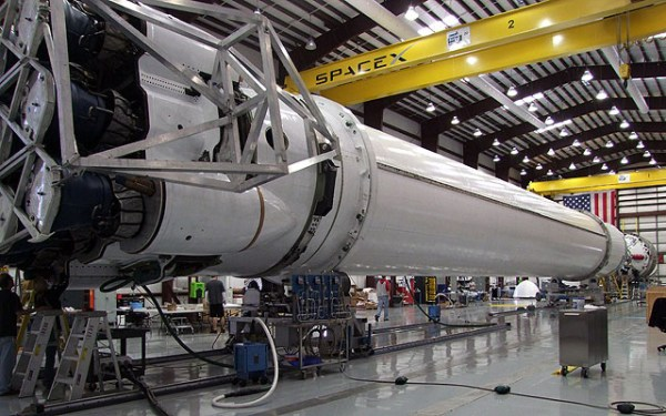 Falcon 9 Flight Hardware Arrives at Cape Canaveral