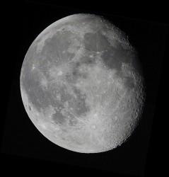 Astrofotografía: La Luna por Logan Mancuso