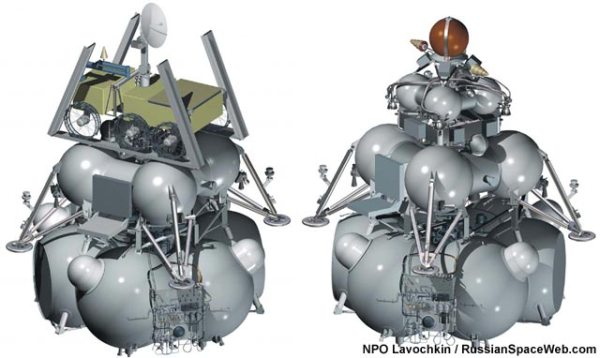 Russian Lunar Exploration Program at Full Speed, Despite ...