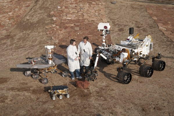 3 Generations of NASAs Mars Rovers