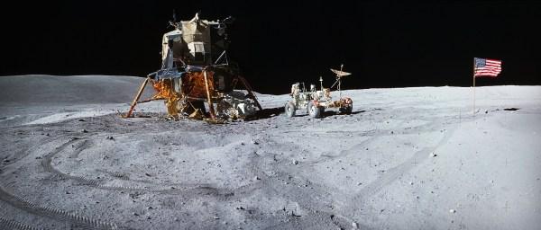Lunar Satellite Reveals Apollo 16 Remains