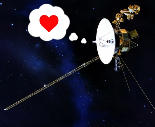 A Valentine From Voyager