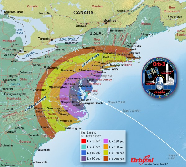 How to Watch Spectacular 1st Nighttime Antares Launch to ...