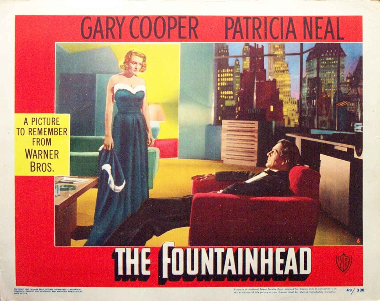 Image result for the fountainhead movie poster