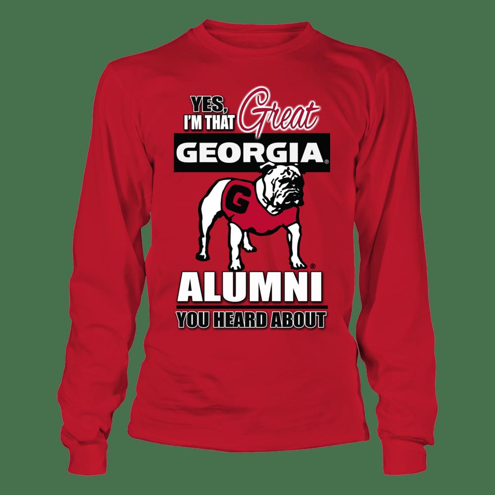 University of Georgia Alumni shirts from the Georgia Bulldogs Store
