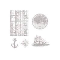 The Open Sea Clear Stamp Set