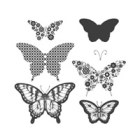 Papillon Potpourri Clear Stamp Set