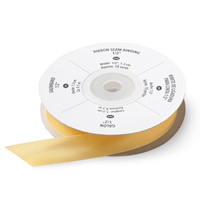 "Daffodil Delight 1/2"" Ribbon Seam Binding"