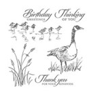 Wetlands Wood Stamp Set
