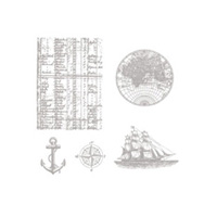 The Open Sea Wood Stamp Set