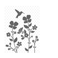Wildflower Meadow Wood-Mount Stamp Set