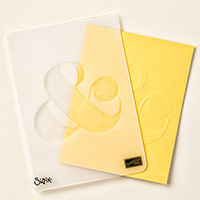 Ampersand Textured Impressions Embossing Folder