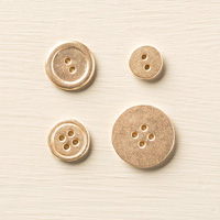 Gold Basic Metal Buttons