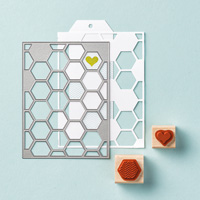 Honeycomb Hello Wood-Mount Bundle