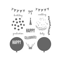 Celebrate Today Photopolymer Stamp Set