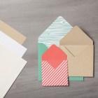 Neutrals Envelope Paper