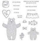 Bear Hugs Clear-Mount Stamp Set