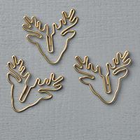 Reindeer Paper Clips Embellishments