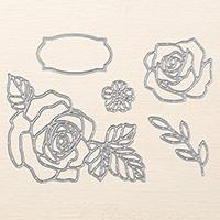 Rose Garden Thinlits Dies
