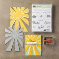 Sunburst Sayings Clear-Mount Bundle