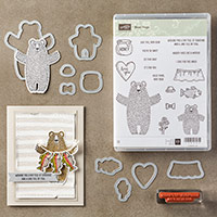 Bear Hugs Clear-Mount Bundle